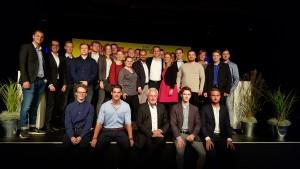 Die Jungen Liberalen auf dem Sommerfest der FDP